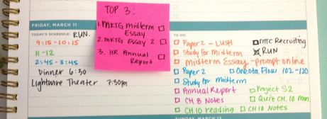 planner to do
