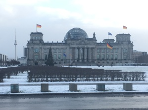The Reichstag - where Bundestag, the German Parliament, meets