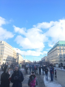 View opposite of Brandenburg Gate