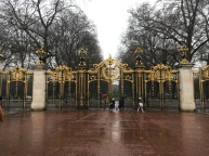 Green Park gate near Buckingham Palace