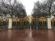 Green Park gate near Buckingham Palace