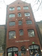 The hostel we stayed at in Bristol