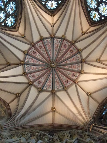 Another part of the ceiling in York Minster