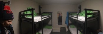 Our room at YHA York