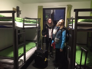 Our room at YHA Manchester
